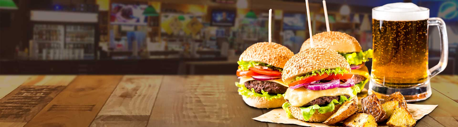 Burger night at Buzz's Bar & Grill