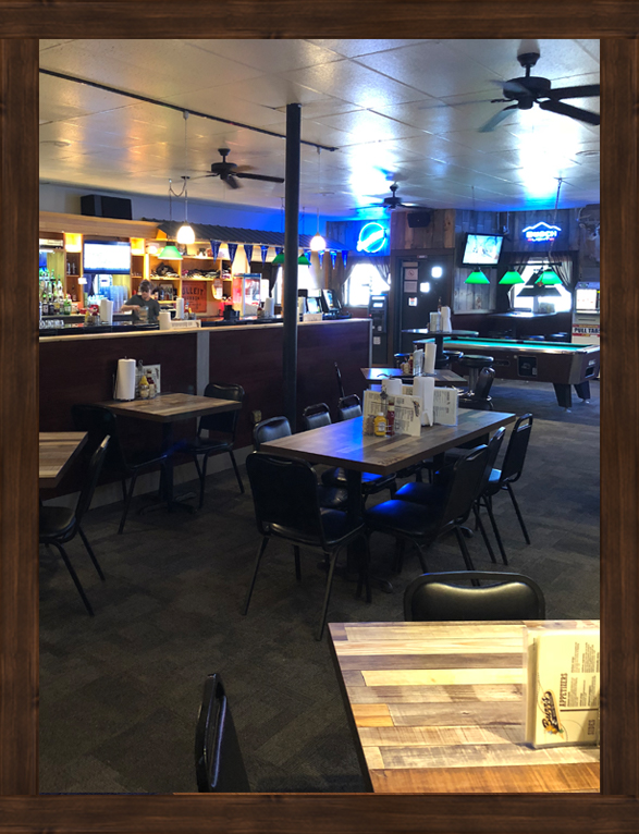 Buzz's Bar & Grill interior Mondovi WI restaurant